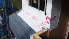 甲州市に建つ太陽光発電とお庭にこだわったお家 上棟工事9