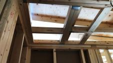 中央市に建つ日当たり良好で木のぬくもりを感じるお家 上棟工事10