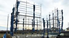 甲州市に建つ太陽光発電とお庭にこだわったお家 基礎工事6