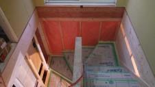 中央市に建つ日当たり良好で木のぬくもりを感じるお家 内装工事13