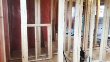 中央市に建つ日当たり良好で木のぬくもりを感じるお家 内装工事2