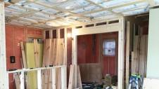 中央市に建つ日当たり良好で木のぬくもりを感じるお家 内装工事3