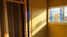 甲州市に建つ太陽光発電とお庭にこだわったお家 内装工事3