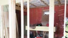 中央市に建つ日当たり良好で木のぬくもりを感じるお家 内装工事6
