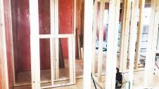 中央市に建つ日当たり良好で木のぬくもりを感じるお家 内装工事7