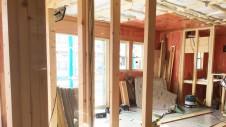 中央市に建つ日当たり良好で木のぬくもりを感じるお家内装工事8
