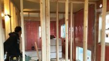 中央市に建つ日当たり良好で木のぬくもりを感じるお家 内装工事9