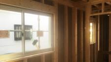昭和町に建つねこちゃんと暮らすかわいいフラットハウス 上棟作業⑩