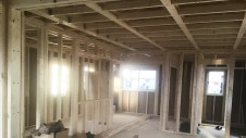 昭和町に建つねこちゃんと暮らすかわいいフラットハウス 上棟作業⑧