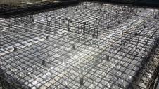 昭和町に建つねこちゃんと暮らすかわいいフラットハウス 基礎工事4