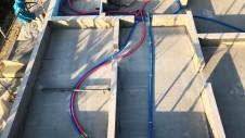 笛吹市に建つ広々フラットハウス 基礎工事5