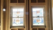 笛吹市に建つ広々フラットハウス 内装工事1