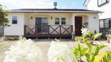 昭和町に建つねこちゃんと暮らすかわいいフラットハウス