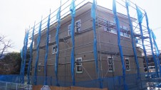 甲府市に建つ、仲良し家族が暮らすかわいいお家