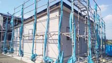 南アルプス市に建つ、インダストリアル系でかっこいいフラットハウス